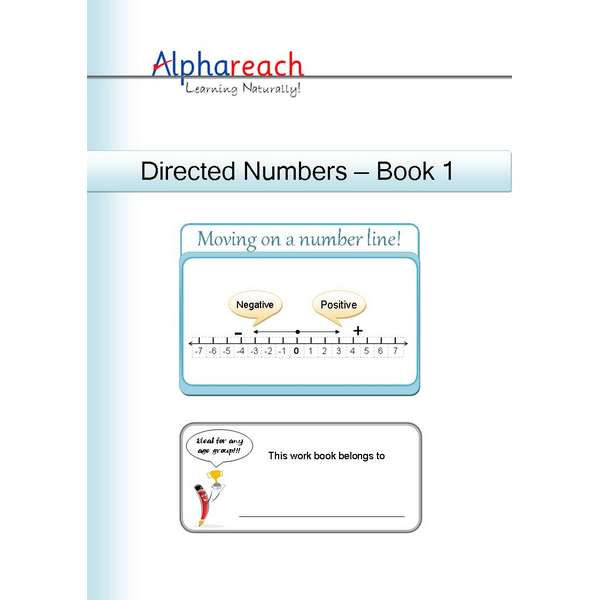 Directed Numbers Workbook
