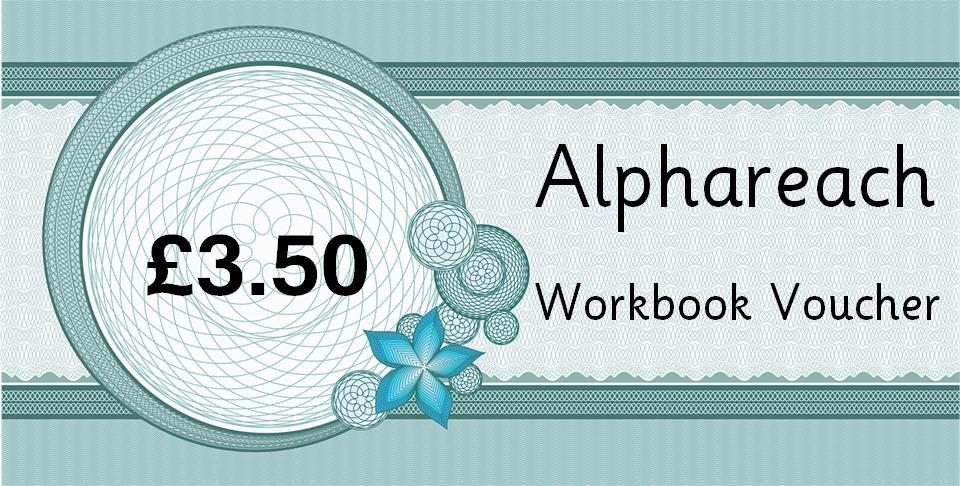 Alphareach book voucher