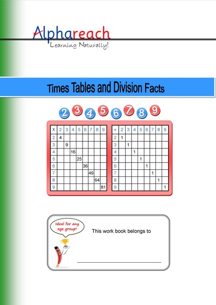 Times Tables Workbook