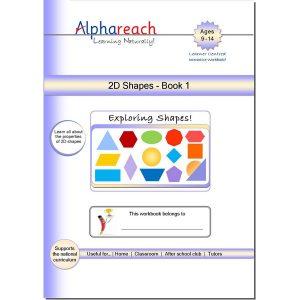2D Shapes book 1