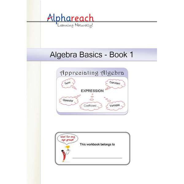 Algebra Basics Workbook 1