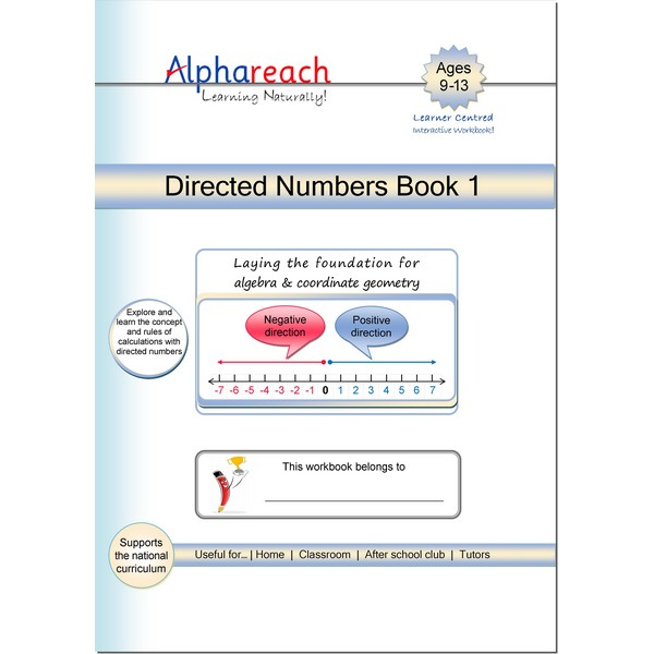 Directed Numbers Book 1