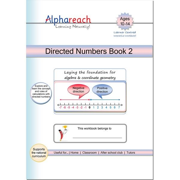 Directed Numbers Book 2