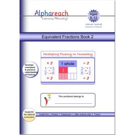 Equivalent Fractions Book 2
