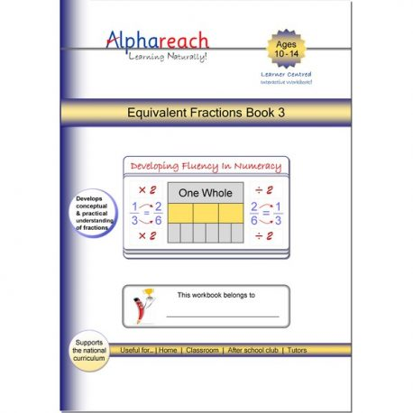 Equivalent Fractions Book 3