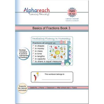 Basics of Fractions Book 3