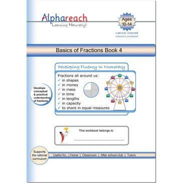 Basics of Fractions Book 4