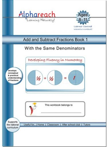 Add and Subtract Fraction Book 1