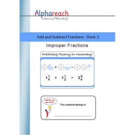 Add and Subtract Fractions Book 3