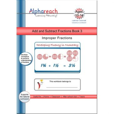 Add and Subtract Fraction Book 3