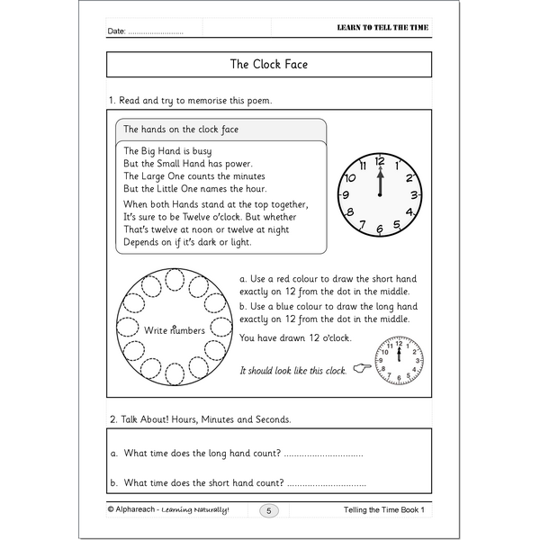 Telling the Time BK 1_pg5_W