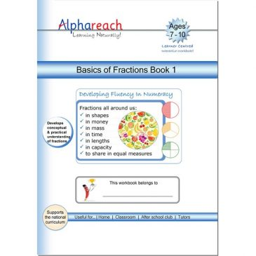 Basics of Fractions Book 1