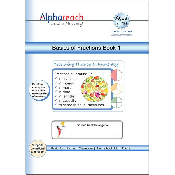 Basics of Fractions Book 1
