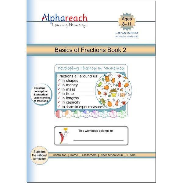 Basics of Fractions Book 2