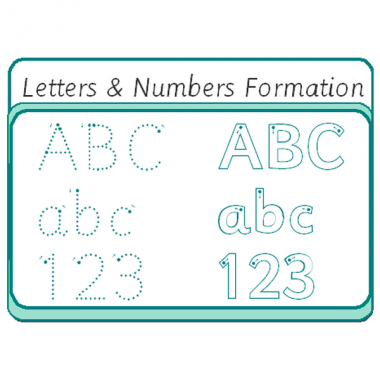 LettersNumbers Formation_W