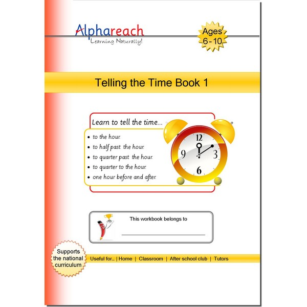 Telling the time book 1