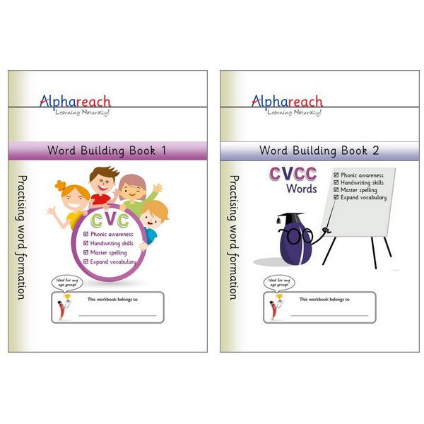 Word Building Book 1 and 2